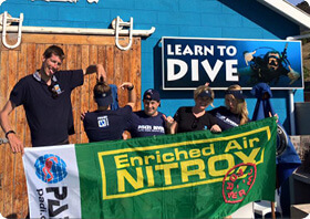 PADI Enriched Air (nitrox) Specialty course with Pisces Divers