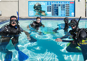 PADI Open Water Diver Course with Pisces Divers
